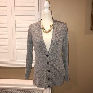 Market & Spruce Stitch Fix Gray button cardigan M